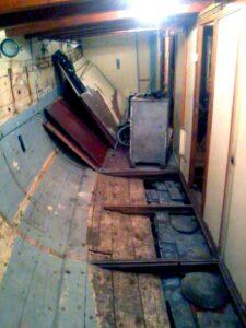 ремонт корабля