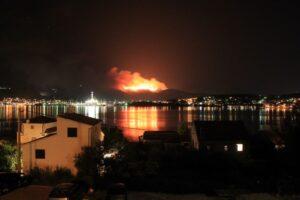 Пожары в Хорватии