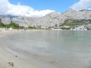 Пляж песчаный, Омиш, Хорватия