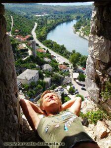 Босния, Почитель, крепость