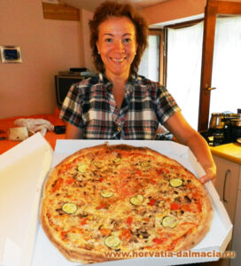 Пицца в Хорватии